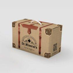 дизанй коробки для соли, дизайн коробки, коробка dr.Mineral's, дизайнер коробок, графический дизайнер, заказать дизайн коробки, дизайнер Тернополь