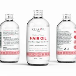 этикетка Hair Oil, дизайн этикетки для масла для волос, масло для волос, дизайн этикеток, дизайнер этикетки, графический дизайнер, дизайнер Тернополь