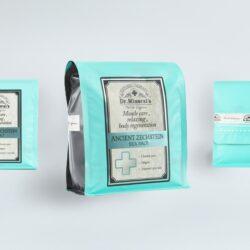 этикетка для солей dr.Mineral's. Разработка этикеток