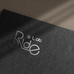 логотип Ride a lot, логотип детских самокатов, дизайн логотипа, дизайн лого, дизайнер логотипов, заказать дизайн лого, дизайнер Тернополь, графический дизайнер Тернополь
